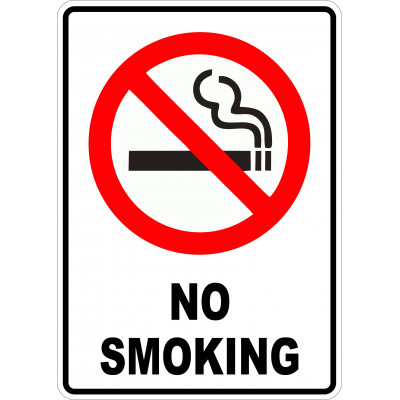 Affiche - No smoking