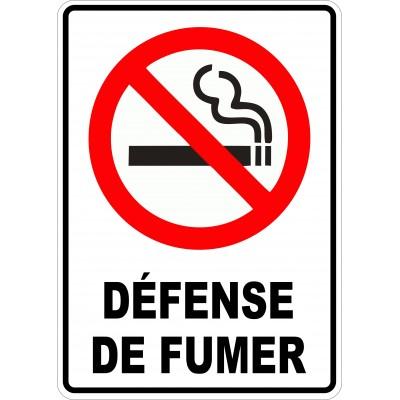 Affiche - Défense de fumer