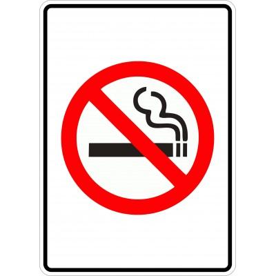 Affiche - Défense de fumer - Sans texte