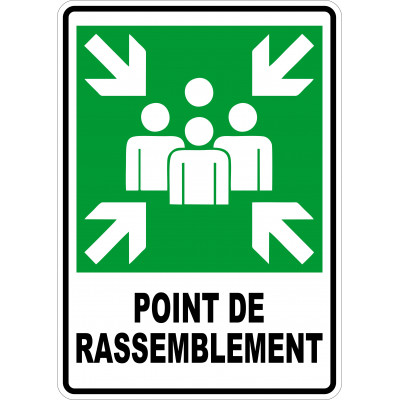 Affiche - Point de rassemblement