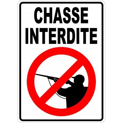 Affiche - Chasse interdite