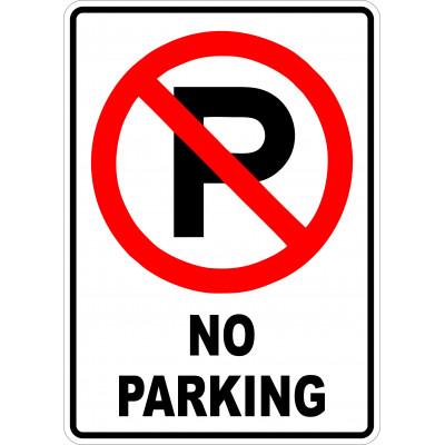 Affiche - No parking