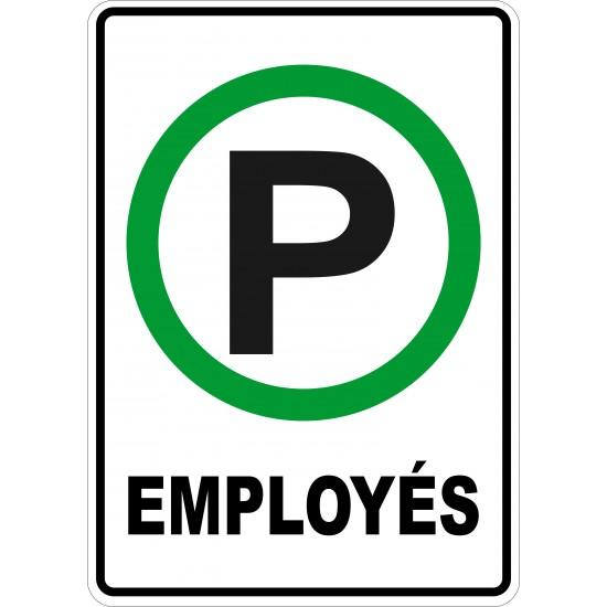 Affiche - Stationnement employés