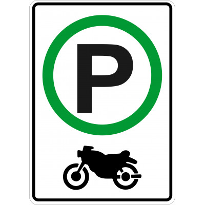 Affiche - Stationnement moto