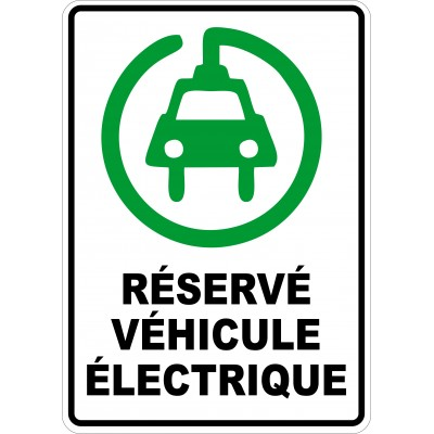 Sign - Parking for electric vehicules icon