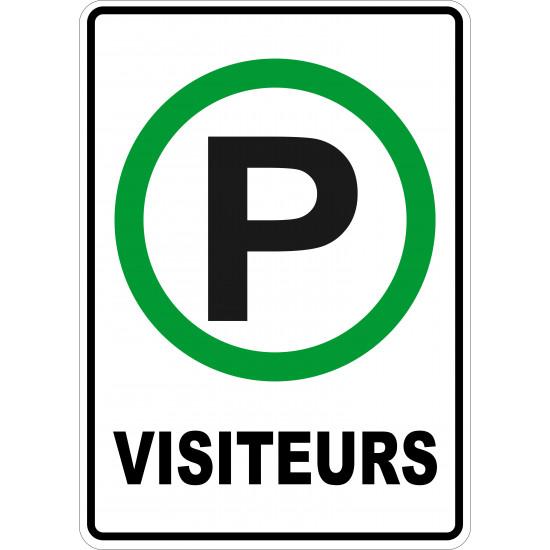 Affiche - Stationnement visiteurs
