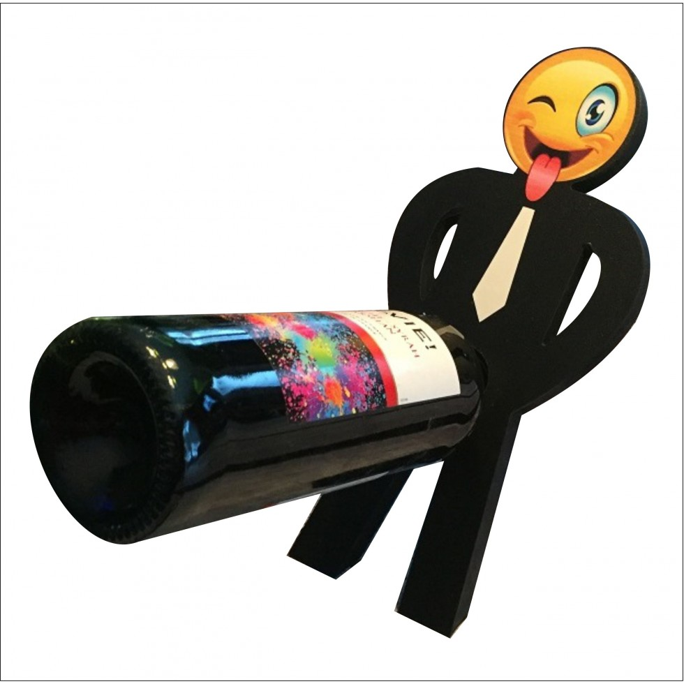 support bouteille vin dr u00f4le