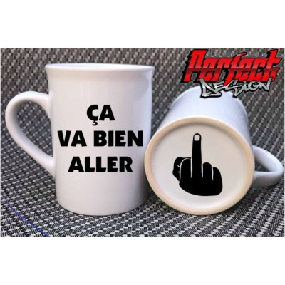 "Decal for mug ""Ça va bien aller"""
