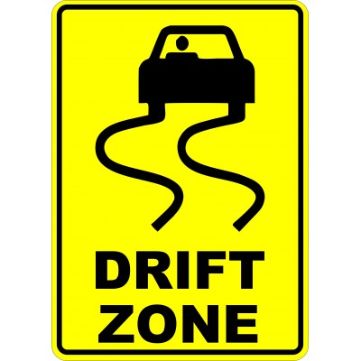 Affiche - Drift zone
