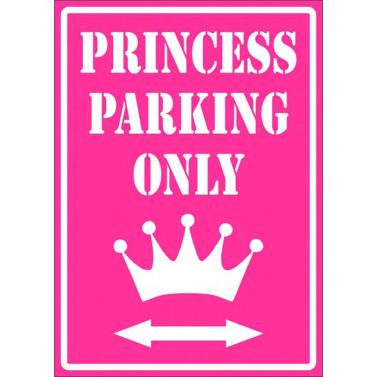 Affiche - Princess parking only