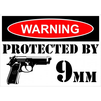 Affiche - Warning 9mm