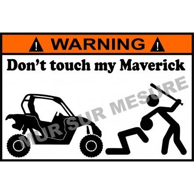 Sticker - Don't touch my Maverick