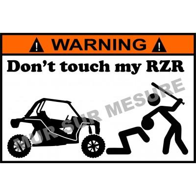 Sticker - Don't touch my RZR