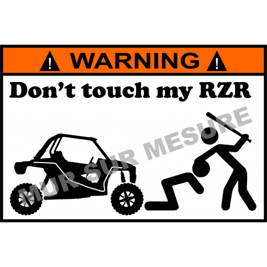 Sticker - Don't touch my RZR
