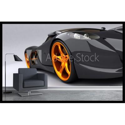 Murale - Auto sport