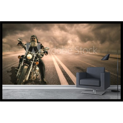 Murale - Moto route