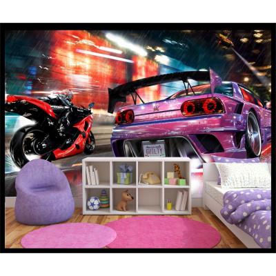 Murale - Moto et Auto