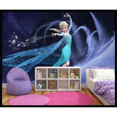 Murale - La Reine des Neiges