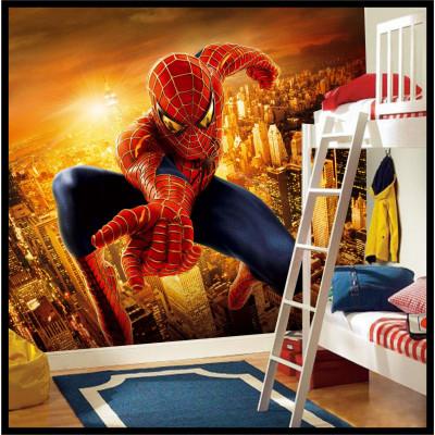 Murale - Spiderman ville