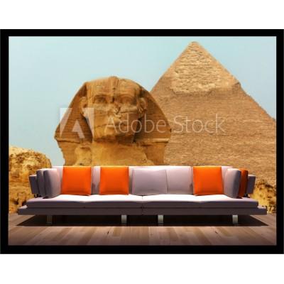 Murale - Pyramide sphinx
