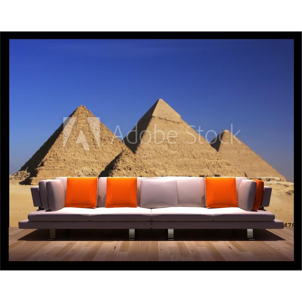 Mural, wallpaper, sticker, pyramids, egypt