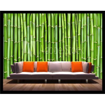 Murale - Bambou texture