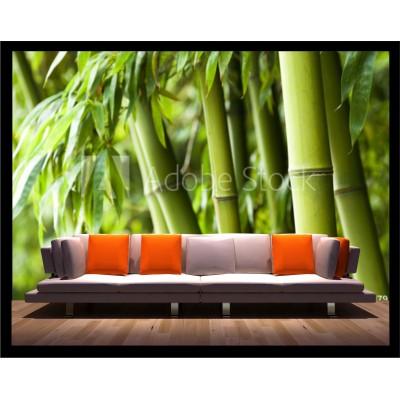 Murale - Bambou