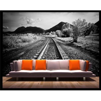 Murale - Chemin de fer