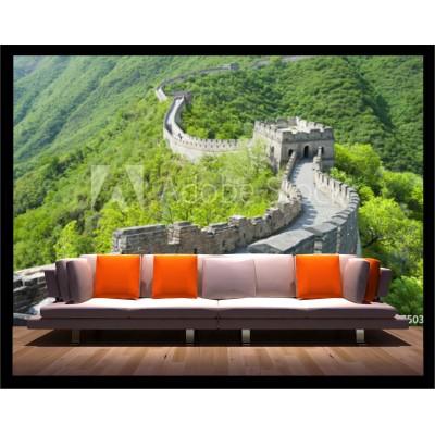 Murale - Mur de Chine vert