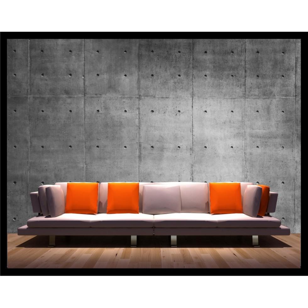 appliqu mural b ton. Black Bedroom Furniture Sets. Home Design Ideas