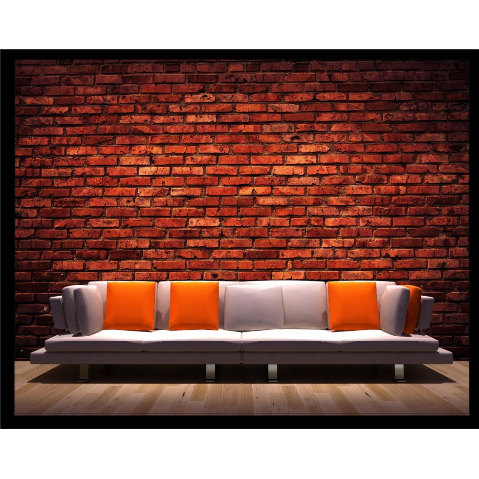 Mural wallpaper brick sticker for Brick mural wallpaper